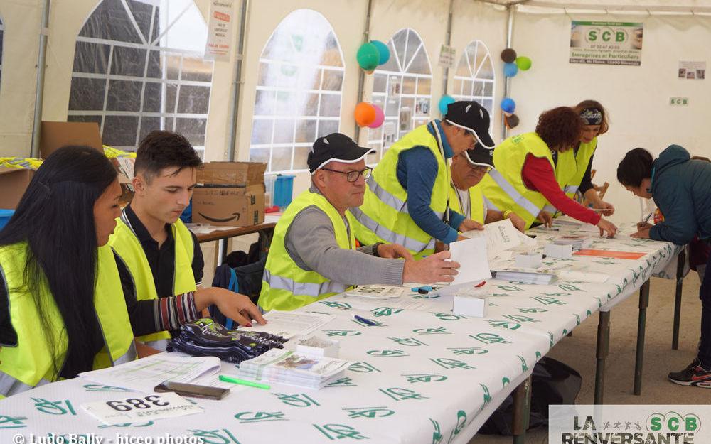 Les bénévoles de LR SCB